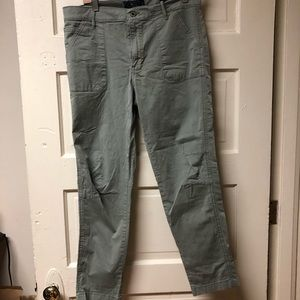 Lucky Brand 'the cargo' cropped pants